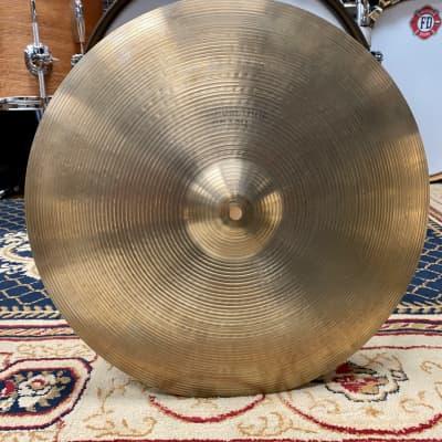 "A. Zildjian 17"" Hollow Logo Medium-Thin Crash Cymbal 1978 - 1982"