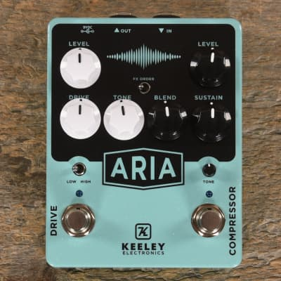 Keeley Aria Compressor Overdrive MINT