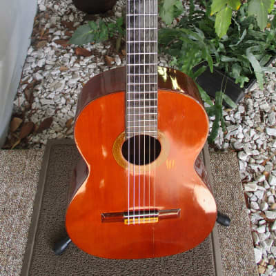 Vintage 60's Marcelino Barbero Nylon String Classical Guitar~Madrid~w/Hard Case~New Tuners~ for sale