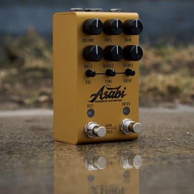 Jackson Audio Mateus Asato ASABI Overdrive Distortion Guitar Effects Pedal, Gold