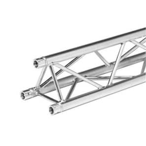 "Global Truss TR-4082 F33 12"" Triangle Truss 11.48'/3.5m Straight Segment"