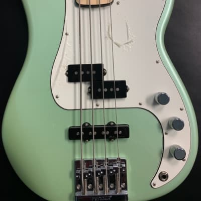 Fender Deluxe Active Precision Bass Special Deluxe Mint Green for sale