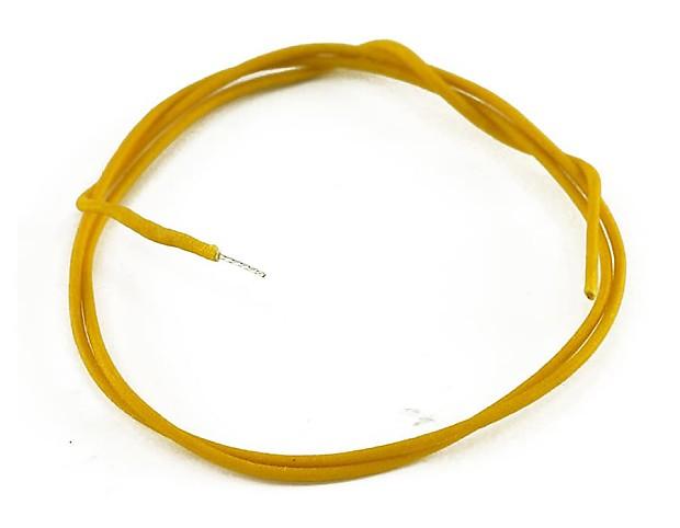 Gavitt Vintage Cloth Wire Yellow – 5 Feet - GAVW-Y | Reverb