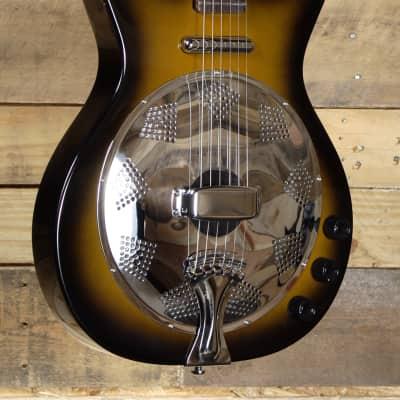Danelectro 59 Acoustic/Electric Resonator Tobacco Sunburst