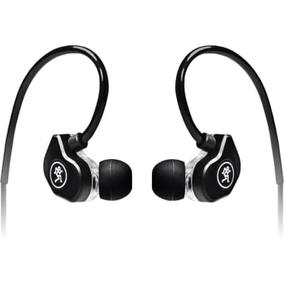 Mackie CR-Buds+ In-Ear Headphones with In-Line Mic & Remote Black