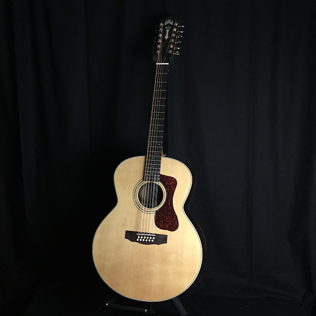 guild f1512e 12 string electric acoustic guitar brand new reverb. Black Bedroom Furniture Sets. Home Design Ideas