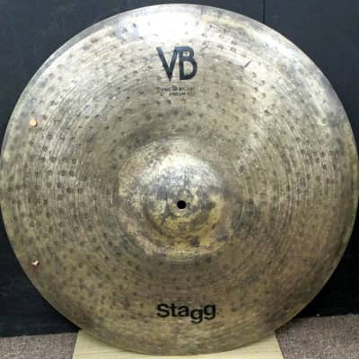 "Stagg Vintage Bronze 21"" Medium Ride Cymbal"