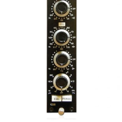 BAE 1028 Module | Single Channel Mic Pre + EQ (Black)