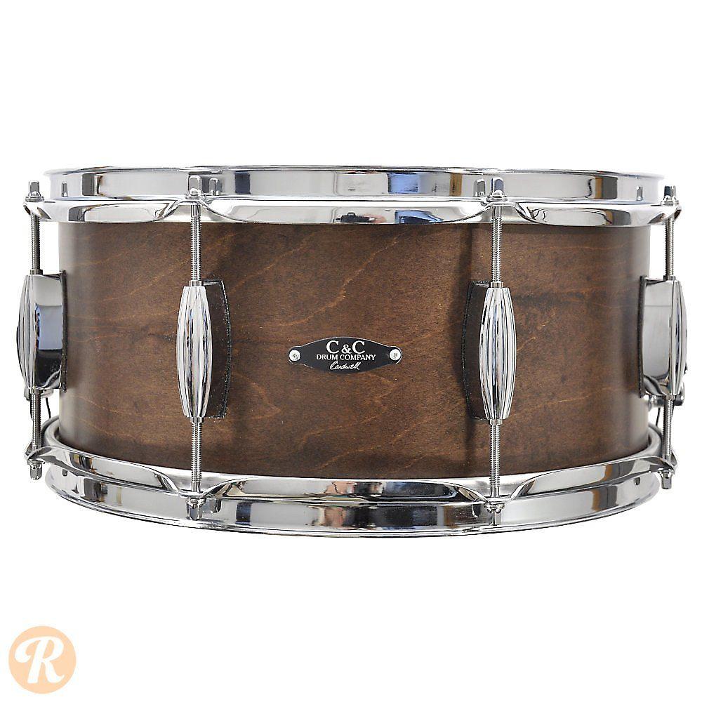 C&C 6.5x14 Player Date II Maple/Mahogany/Maple Snare Drum ...