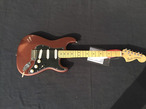 fender deluxe roadhouse stratocaster copper free shipping reverb. Black Bedroom Furniture Sets. Home Design Ideas