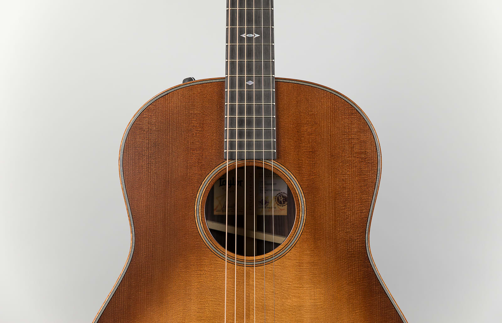 Taylor 717e Builder's Edition Grand Pacific, V-Class Bracing, Wild Honey Burst Finish