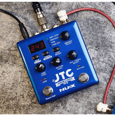 NUX JTC Drum & Loop PRO (NDL-5) Dual Switch Looper Pedal + Free Shipping