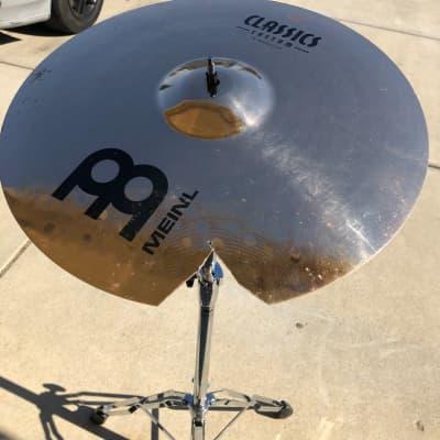 "Meinl Classics Custom 18"" Medium Crash Cymbal/ Cracked/ Repaired"