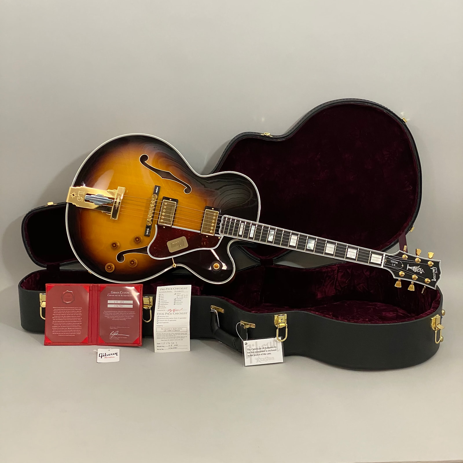 2013 Gibson Custom L-5CES Sunburst