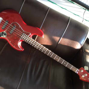 Tokai Jazz Sound J type bass 2016 Candy Apple Red for sale