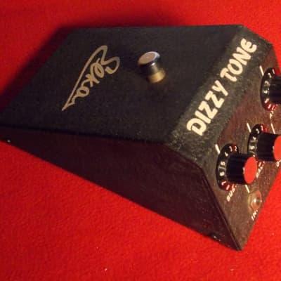 Elka Dizzy Tone fuzz pedal.  Ultra rare 1967 original.  Thee pedal used by Jext Telez.
