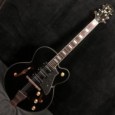 2018 Peerless Wizard Standard Black Electric Archtop Guitar #5660 w case