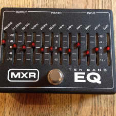 MXR 10 Band Graphic Equalizer