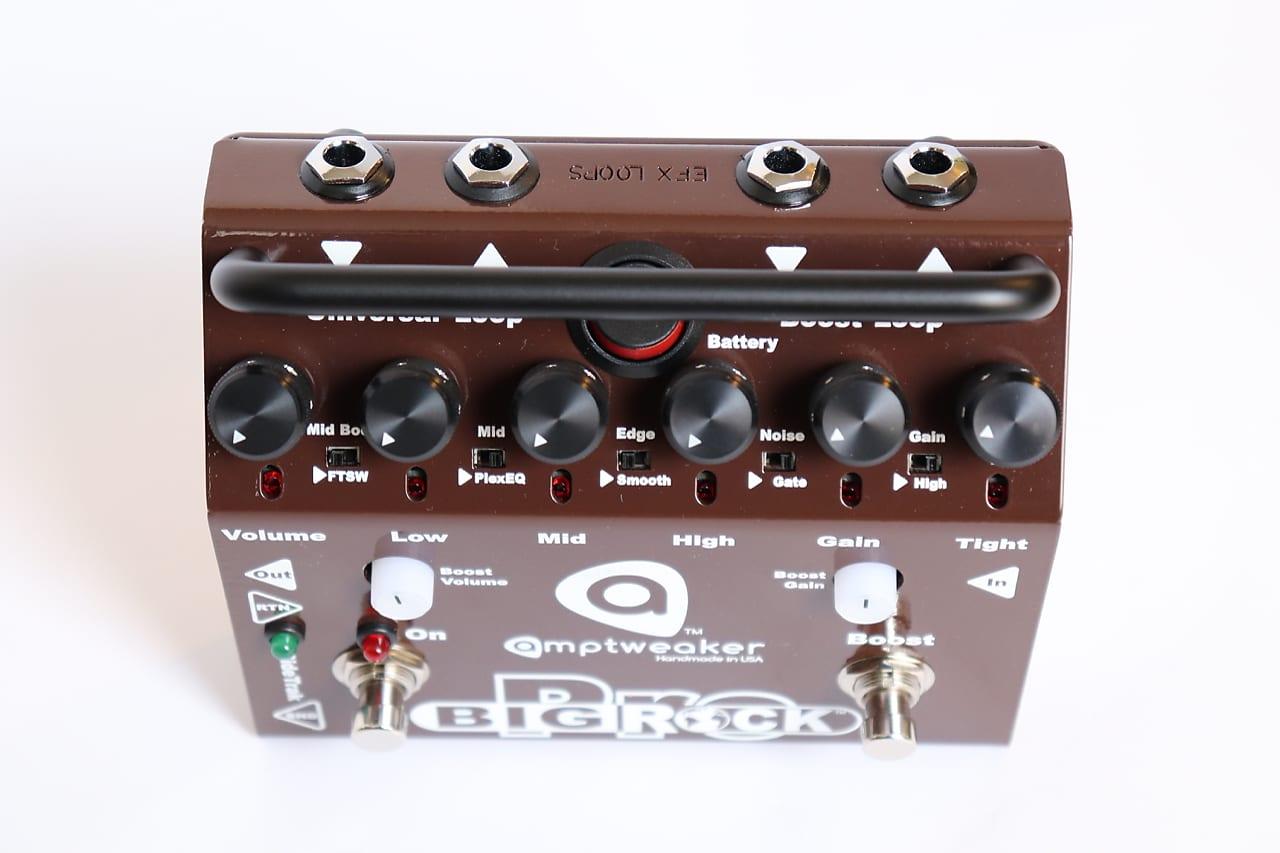 Amptweaker Big Rock Pro Distortion Pedal