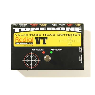 Radial Headbone VT Tube Amp Head Switcher TONEBONE - NEW