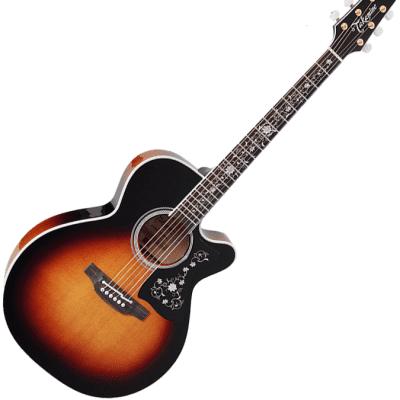 Takamine EF450C-TT NEX Acoustic Guitar Brown Sunburst