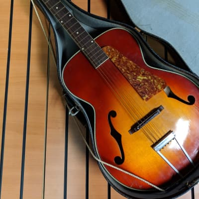 Old Kraftsman Archtop c. 1950s - 1960s Sunburst for sale