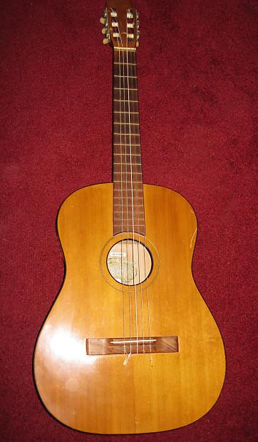 Vintage 60 S Hofner Classical Acoustic Guitar Reverb