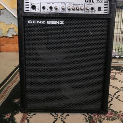 Genz Benz GBE 100 Bass Amp for sale
