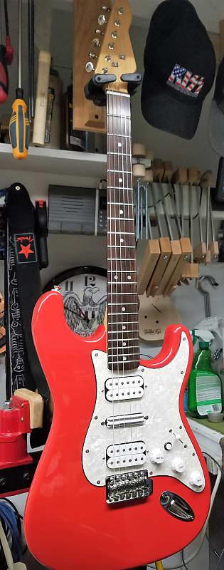 Rock'N R Guitars LLC RRG Stratocaster, Vintage Vibe 2018 Fiesta Red image