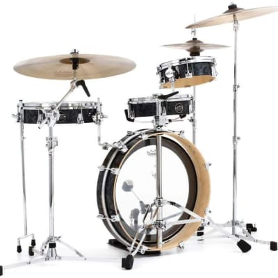 DW Performance Series Low Pro 4-Piece Shell Pack - White Marine Finish Ply