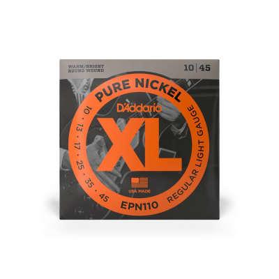 D'Addario EPN110 Electric Guitar Nickel Regular Light 10-45