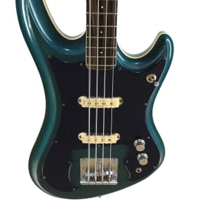 Guyatone, EB-9 Bass, Sharp 5, Blue Sparkle, MIJ, 1968, RARE!!! for sale