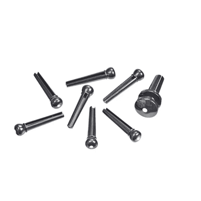 D'Addario Planet Waves PWPS Injected Molded Bridge Pins with End Pin