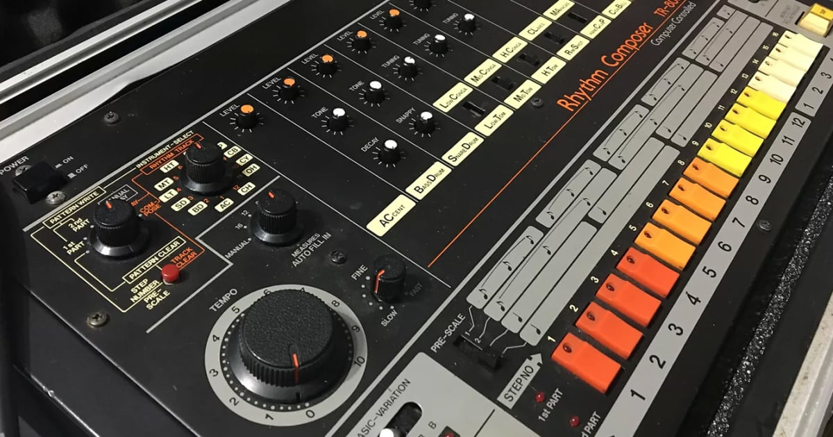 Image result for Roland Releases First Official Plugins of the TR-808 and TR-909