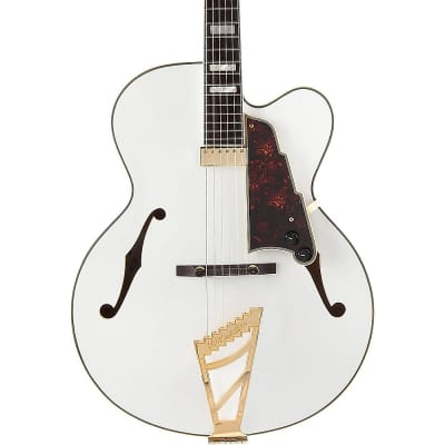 D'Angelico Excel EXL-1 Hollowbody Electric Guitar Regular Classic White Tortoise Pickguard