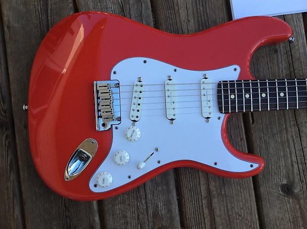 Fender Stratocaster American Standard 2000 Hot Rod Red