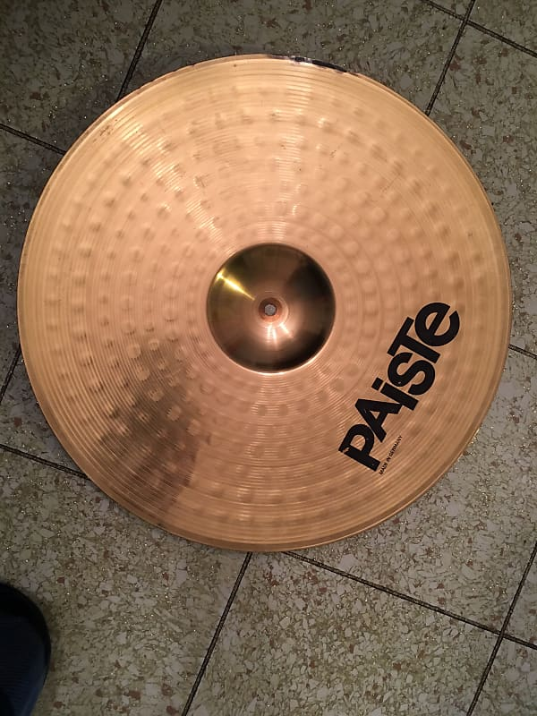 paiste 302 20 inch ride cymbal made in germany rick 39 s reverb. Black Bedroom Furniture Sets. Home Design Ideas