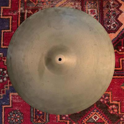 "1960s Zildjian Avedis 20"" 2,375g  vintage ride cymbal"