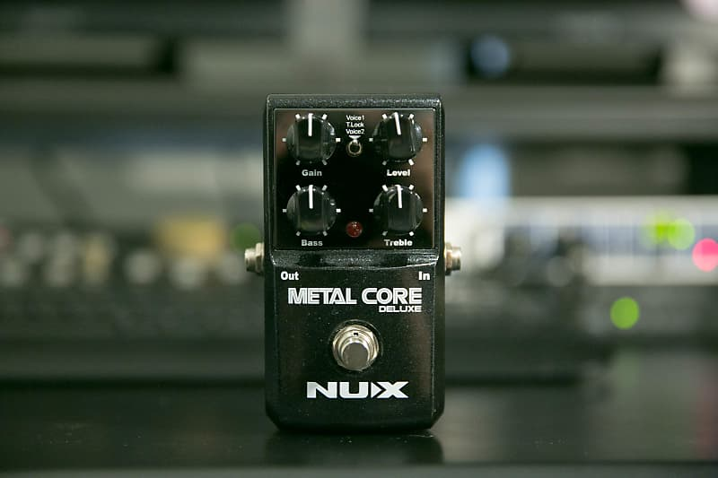 nux metal core deluxe distortion pedal free shipping reverb. Black Bedroom Furniture Sets. Home Design Ideas