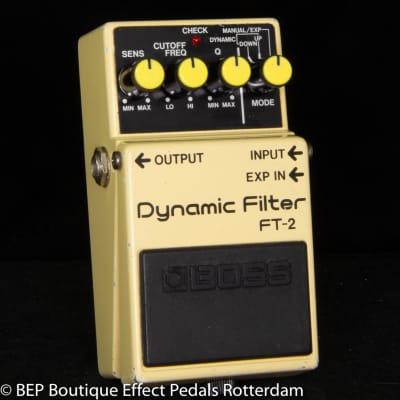Boss FT-2 Dynamic Filter 1987 s/n 757100 Japan