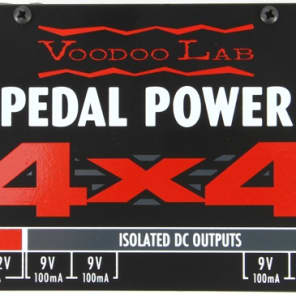 Voodoo Lab Pedal Power 4 x 4 Isolated Pedal Power Supply for sale