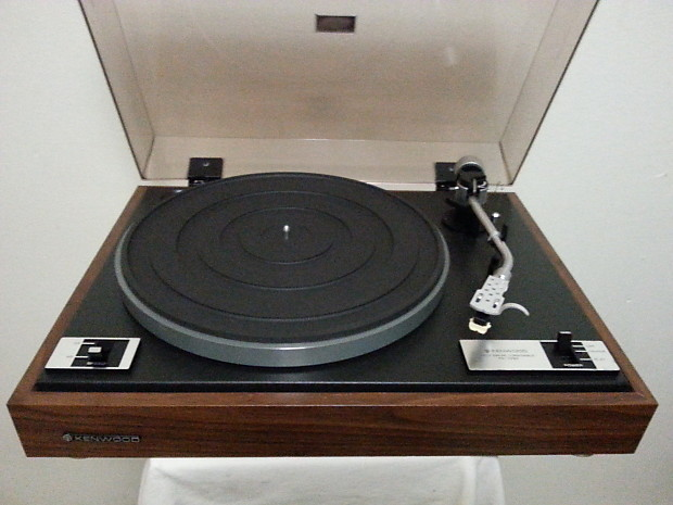 vintage kenwood kd 1033 manual turntable working condition. Black Bedroom Furniture Sets. Home Design Ideas