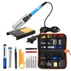Anbes Soldering Iron Kit 60W Adj Temperature Welding Tool 5 pcs Accessories New image