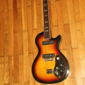 Musima Deluxe 25K GDR Rare Vintage Electric Guitar USSR 1976 year DDR Singlecut for sale