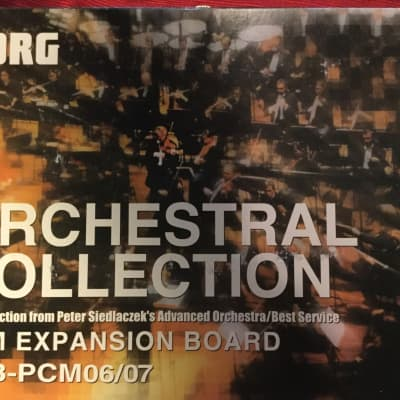 Korg EXB PCM06/07 Orchestral Collection for Triton and Karma Expansion ROMs Complete
