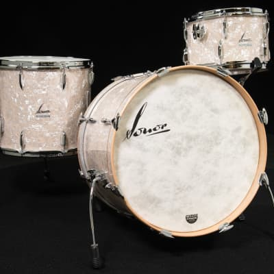 Sonor Vintage Series 3pc Shell Pack 12/14/20 - Vintage Pearl