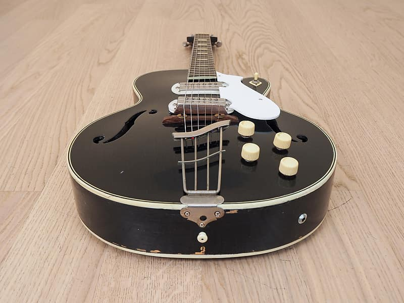 1950s harmony espanada h63 vintage archtop electric guitar reverb. Black Bedroom Furniture Sets. Home Design Ideas