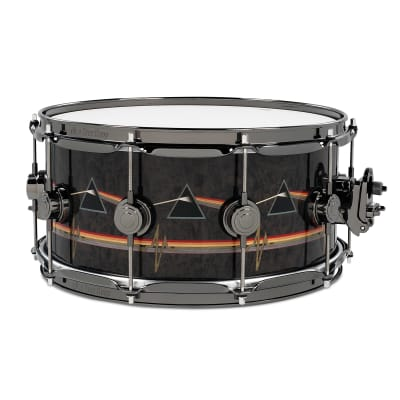 """DW DREX6514SSN-PF Collector's Series 6.5x14"""" Pink Floyd Signature Icon Snare Drum"""
