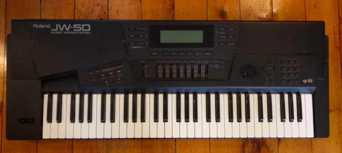 roland jw 50 61 key digital keyboard workstation sequencer reverb. Black Bedroom Furniture Sets. Home Design Ideas
