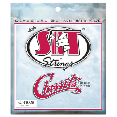 SIT Strings SCH102B Classits High Tension Ball-End Nylon Classical Guitar Strings